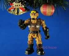 *K642 Decoration Ornament Xmas Tree Decor Mattel Rescue Heroes Army Soldier