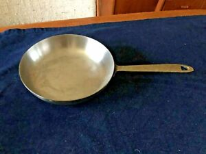 Paul Revere 1801 Tri-Ply Stainless Steel Copper Core Skillet Frying Pan 8""
