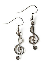 Music Note Earrings - Cool Accessories - Women's Jewelry - Handmade - Gift Box