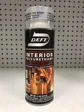 Deft Defthane Polyurethane Finish Clear GLOSS SPRAY 11.5oz Platinum Protection