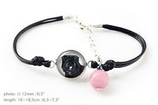 Bouvier. Bracelet for people who love dogs. Photojewelry. Handmade. Ca