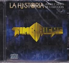 Timbiriche La Historia Audio y Video de Coleccion CD+DVD New Sealed