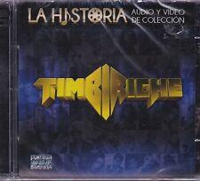 Timbiriche La Historia Audio y Video de Coleccion CD+DVD New Sealed
