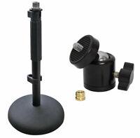 Rode DS-1 Tischstativ Mikrofonständer + keepdrum Kugelgelenk Stativ-Adapter