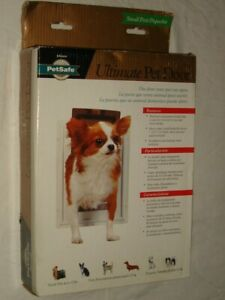 NEW PetSafe Ultimate Pet Door Wall Entry with Heavy Duty METAL Frame Sz. Small
