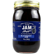 The Jam Shoppe All Natural Blackberry Jam 19 Oz Handcrafted Real Fruit Recipe