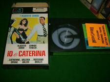 IO E CATERINA - RARE Pre Cert Italian CVR carton BETAMAX (Pal Format) - Commedia