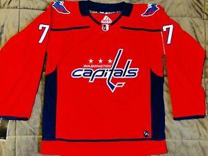 Men's 2021-22 Washington Capitals T.J. Oshie Home Premier Jersey, L(52)
