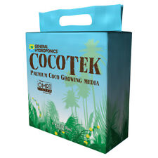 General Hydroponics CocoTek Bale Coco Growing Media, 5kg, New, Free Ship