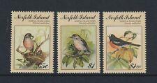 Norfolk Island - 1990, Birdpex Ausstellung, Rotkehlchen, Vögel Set - MNH - Sg