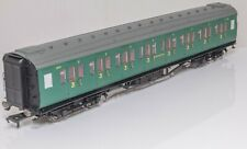 Hornby R4735, Maunsell corridor 3rd class coach Southern Railway green