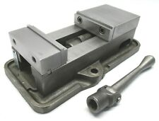 Kurt Anglock 4 Milling Machine Vise With Jaws Amp Handle D40