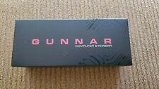 Gunnar Axial Gaming Glasses Onyx Amber