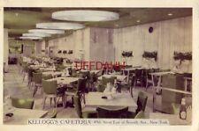 Kellogg'S Cafeteria 49th Street New York City 1953