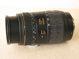 TAMRON 70-300mm f4 LDO MACRO LENS FOR SONY/MINOLTA MOUNT