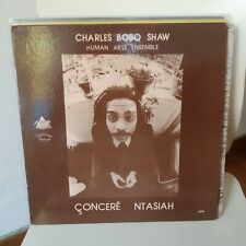 Lp Free Jazz - Charles Bobo Shaw Human Art Ensemble - Concere Ntasiah