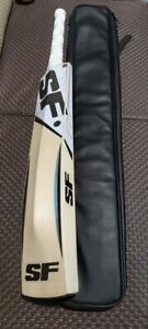 SF ALMANDUS PLAYER  GRADE 1 PLUS ENGLISH WILLOW CRICKET BAT 2.12 Lbs NEW