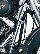 Kuryakyn Chrome Down Tube Frame Covers Accent Trim Harley Softail Twin Cam 00-06