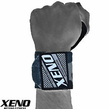 XENO WEIGHT LIFTING GYM TRAINING WRIST SUPPORT STRAPS WRAPS BODYBUILDING