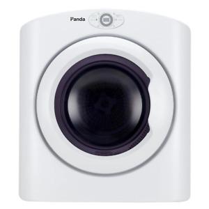 White Compact Portable Electric Laundry Dryer, Sensor Dryer 2.6 cu.ft. 120-Volt