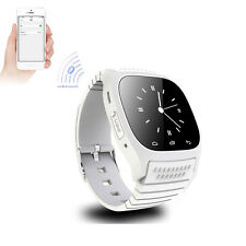 Fashion Sports White Touch Screen Bluetooth Smart Watch For Samsung Galaxy S6 S5