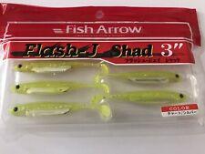 "Fish Arrow Flash J Shad 3"" (x4)"