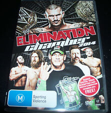 WWE Elimination Chamber 2014 (Shock Australia Region 4) DVD - Like New