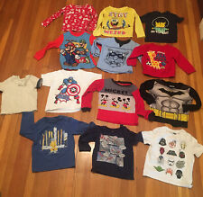 Toddler Clothes Lot Of 13 Shirts Size In Description - Children's Free Shipping