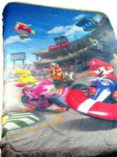 Nintendo Super Mario Bros Queen Reversible Duvet Mario Kart Bedding Comforter