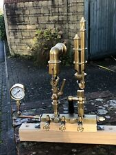 Live Steam Engine Whistles Pressure Guage and Valves all New