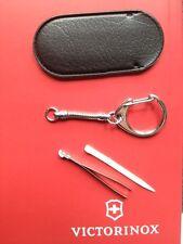 Zahnstocher Pinzette Etui Kettchen Set Victorinox schweizer Taschenmesser klein