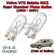 2x Volvo V70 MK2 Genuine Osram Cool Blue Intense Fog Light Bulbs Pair