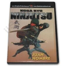 Koga Ryu Ninjitsu Training Dvd Juan Hombre ninja ninjutsu Taihen Taikenjutsu