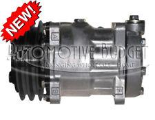 A/C Compressor w/Clutch for Sanden 4318 - NEW - Freightliner Kenworth