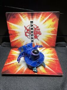 Bakugan Battle Brawlers Preyas Blue Solid Aquos B1 550G RARE Slightly Used