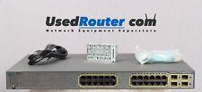 Cisco Catalyst WS-C3750G-24PS-E Fully Tested | 1 Year warranty