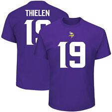 Adam Thielen Minnesota Vikings #19 Majestic NFL T-Shirt Purple Jersey
