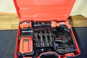 Hilti NPR 32-A Press Crimper with 6 Jaws for Copper            RP 340 330 ridgid