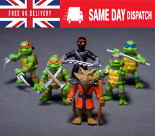 6Pcs Teenage Mutant Ninja Turtles Tmnt Action Figures Collection Toys Set Gift