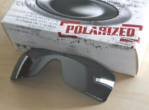 NWOT  Authentic Oakley Oil Rig Sunglasses Polarized Grey Replacement Lens