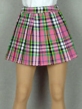 1/6 Phicen, Hot Toys, Kumik, Cy Girl, ZC & NT - Female Pink Tartan Plaid Skirt