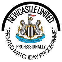 Newcastle United v West Ham Professionally Printed Match Programme July 2020