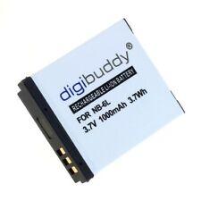 Digibuddy Accu Batterij Canon NB-6L - 1000mAh Akku Battery Bateria Batterie