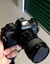 Minolta X-700 35mm SLR Plus Two Lenses