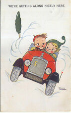 Comic Car and Children Getting Along Nicely Here Phyliss Cooper