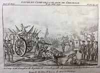 Camp de la Plaine de Grenelle 1791 Gonesse Verberie Révolution Française Paris