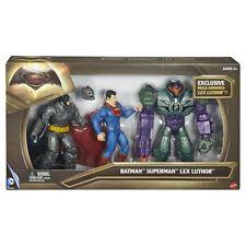 Batman v Superman - Batman, SUPERMAN E LEX LUTHOR 3 Statuetta confezione NUOVO