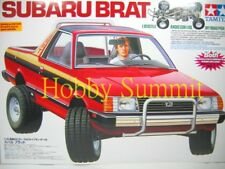 58384 Tamiya 1/10 RC SUBARU BRAT  2WD Off Road Pick-Up Racing Truck  !!