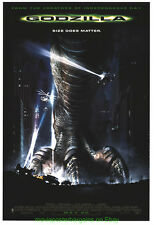 GODZILLA  + THE CAVE + EIGHT LEGGED FREAKS MOVIE POSTER All Mint Originals 27x40