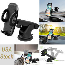 Universal Adjustable Car Window Dash Mount Cell Phone Holder for Samsung iPhone